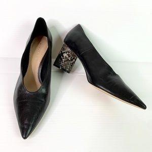 Zara Heels Woman 8 / 39 Point Toe Round Block